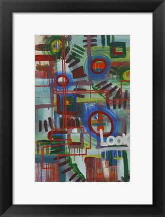 Framed Abstract 16 Print
