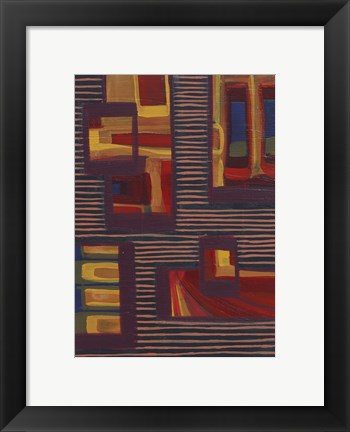 Framed Abstract 18 Print
