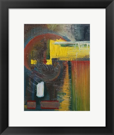 Framed Abstract 19 Print