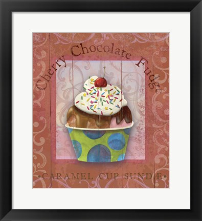 Framed Parlor Ice Cream IV Print