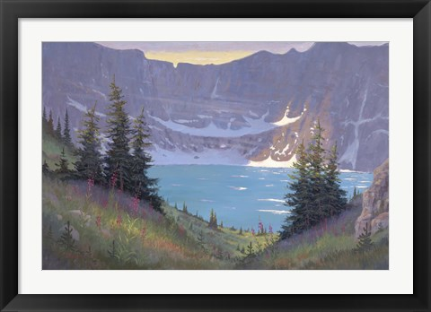 Framed Iceberg Lake Print