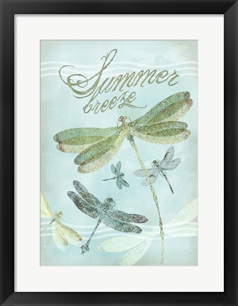 Framed Summer Breeze Print