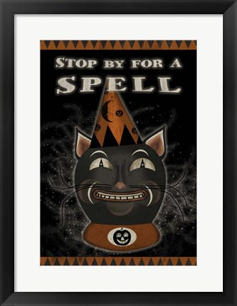 Framed Stop By For A Spell Print