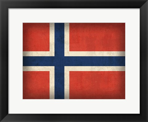 Framed Norway Print