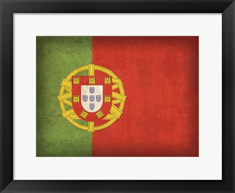 Framed Portugal Print