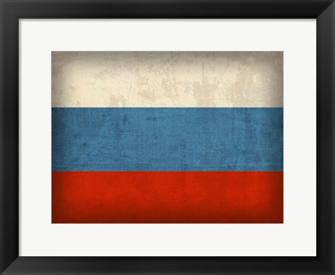 Framed Russia Print