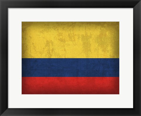 Framed Colombia Print