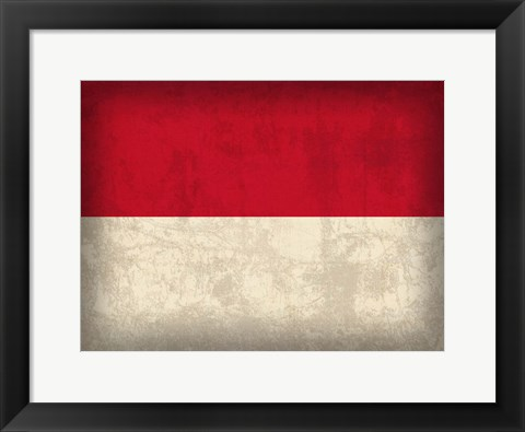 Framed Indonesia Print