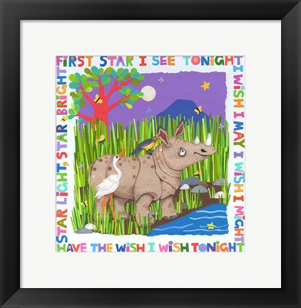 Framed First Star I See Tonight Print