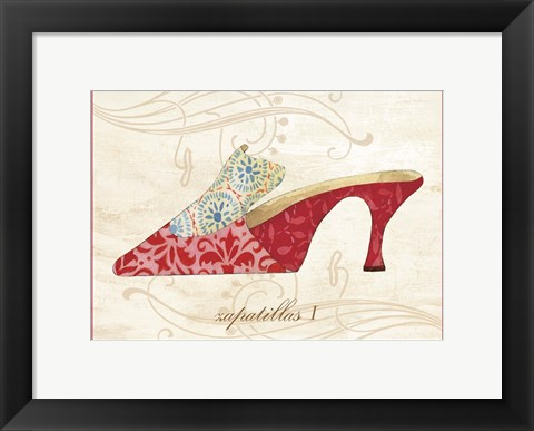 Framed Slipon I Print