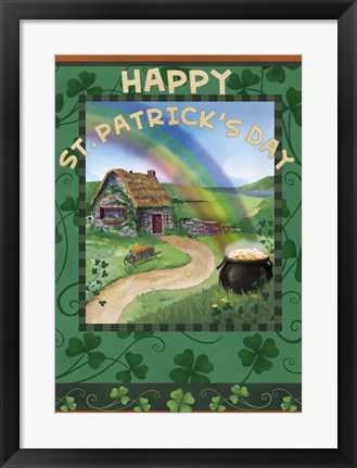 Framed St. Patrick's Day Print