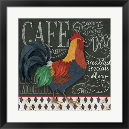 Framed Breakfast Special Print