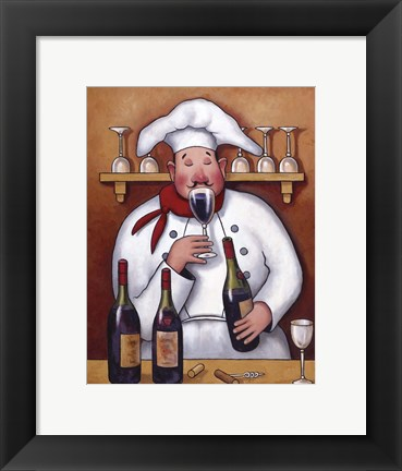 Framed Chef I Print