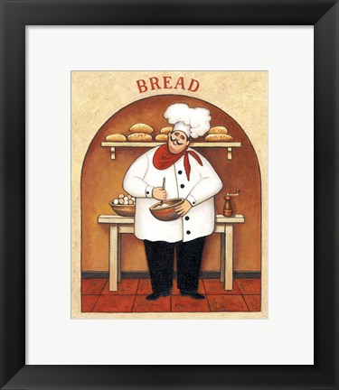 Framed Bread Print