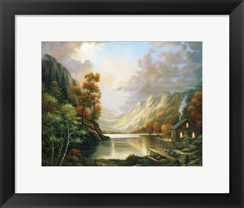 Framed Fall Serene Print