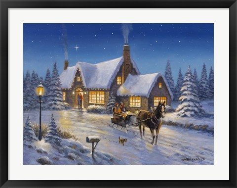 Framed Warmth Of The Season Print