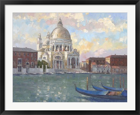 Framed Venice Light Print