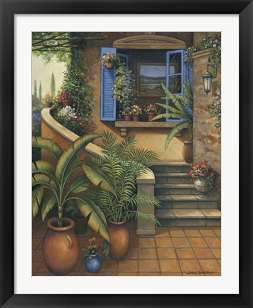 Framed Stairway To Paradise Print