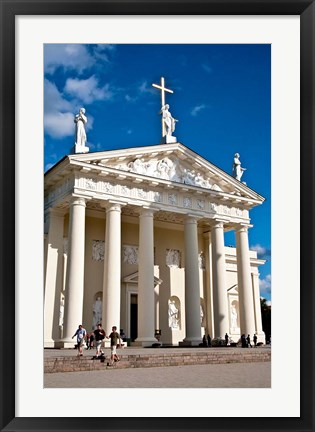Framed Arch-Cathedral Basilica, Vilnius, Lithuania I Print