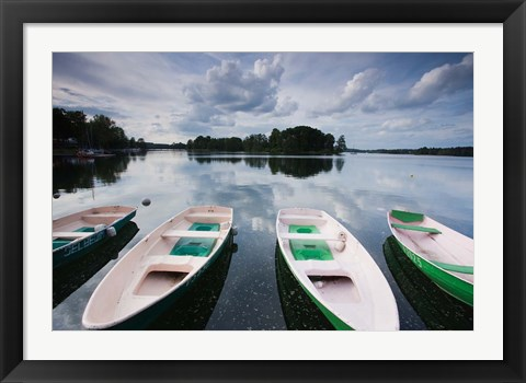 Framed Lake Galve, Trakai Historical National Park, Lithuania I Print