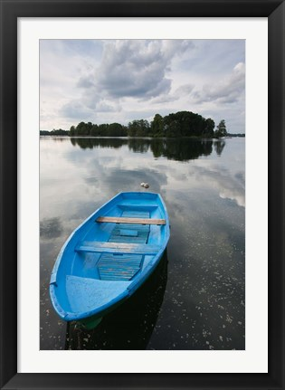 Framed Lake Galve, Trakai Historical National Park, Lithuania IV Print