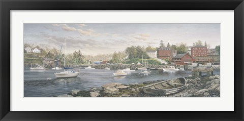 Framed Cozy Cove Print