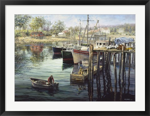 Framed Fisherman's Domain Print