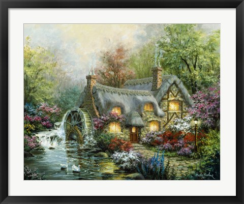 Framed Country Retreat Print