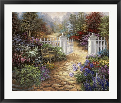 Framed Gateway To Enchantment Print