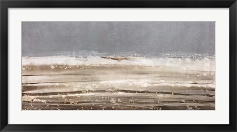 Framed Danish Sea III Print