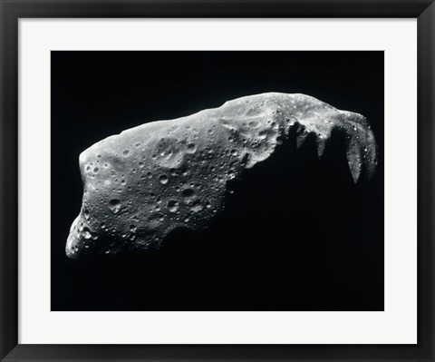 Framed Image of an Asteroid Print