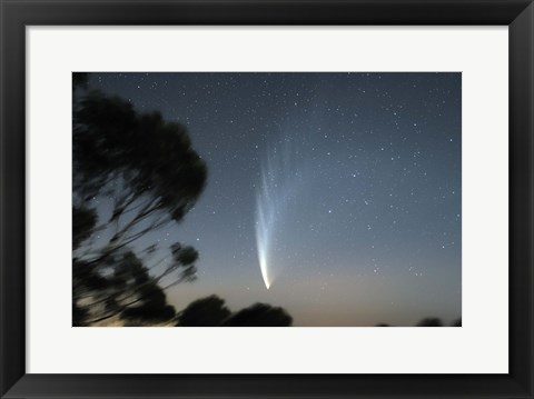 Framed Comet McNaught P1 Print