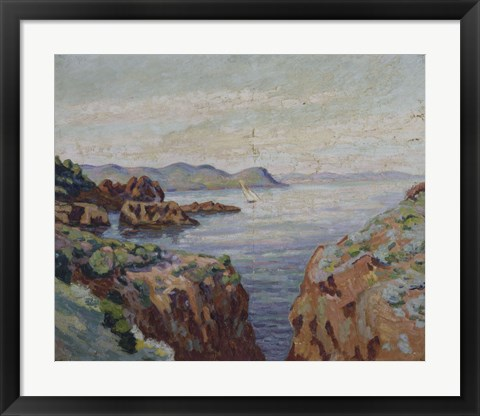 Framed Towards Mal Infernet (Esterel) Print