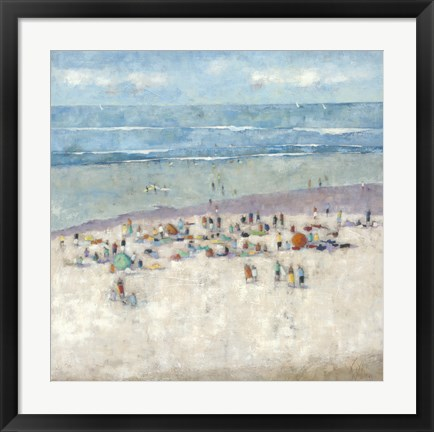Framed Beach 1 Print