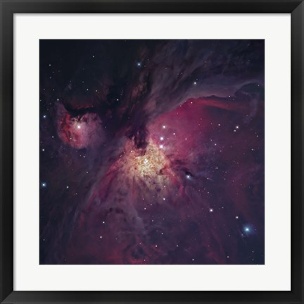 Framed Orion Nebula V Print