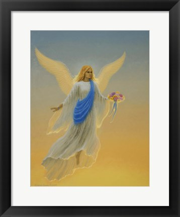 Framed Morning Angel Print