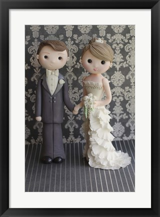 Framed Bride And Groom 2 Print