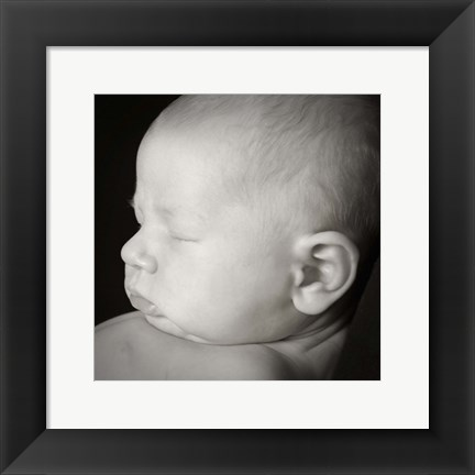 Framed Baby Ear II Print