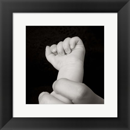 Framed Baby Fist II Print