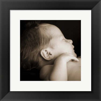 Framed Baby Rest Print