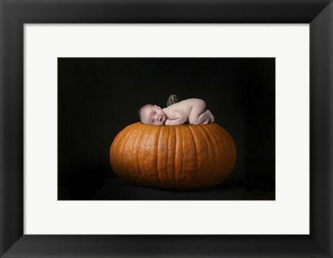 Framed Mock Pumpkin Baby Print