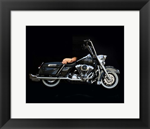 Framed Schneider Whole Bike Baby Print
