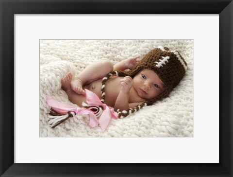 Framed Baby Stiched Cap Print