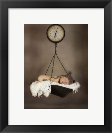 Framed Baby Weight III Print