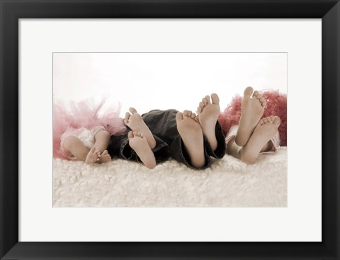 Framed Little Feet Print