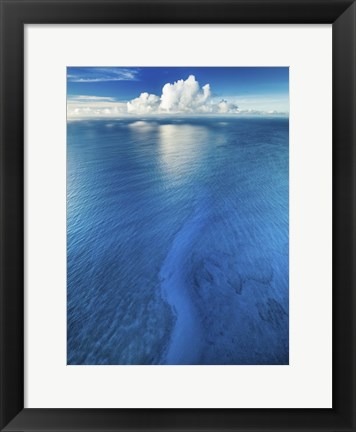 Framed Chasing a Cloud Print