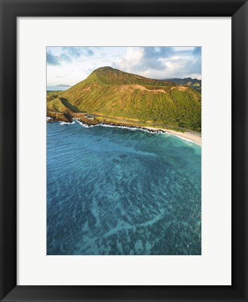 Framed Sandys No Buildings Print