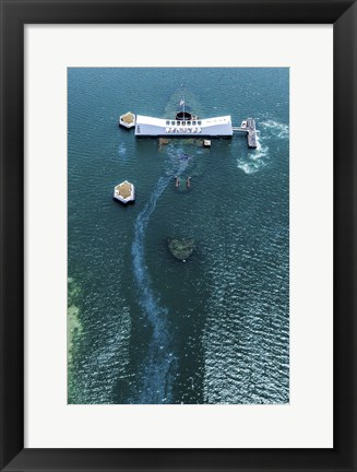 Framed Arizona Memorial Print