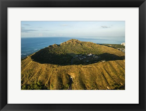Framed Diamond Head Entrance Print