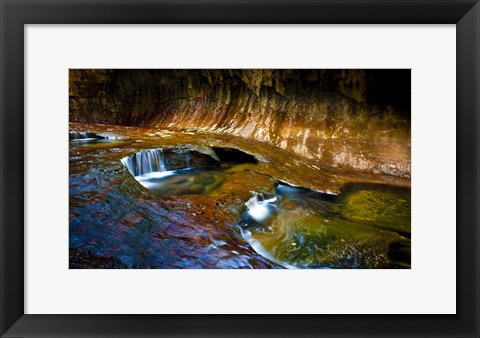 Framed Ways Of Zion Print